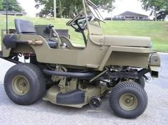 Cheap Lawn Mowers 383580093234688323 - Jeep lawn mower… want one! Source by Auto Jeep, Jeep Jk, Jeep Truck, Jeep Wrangler, Jeep Gear, Jeep Pickup, Go Kart, Cycle Kart, Jeep Willis