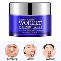 Hot Anti Wrinkle Anti-Aging Cream Blueberry Skin Care Moisturizing Face Cream Whitening Face Cream Deep Hydrating