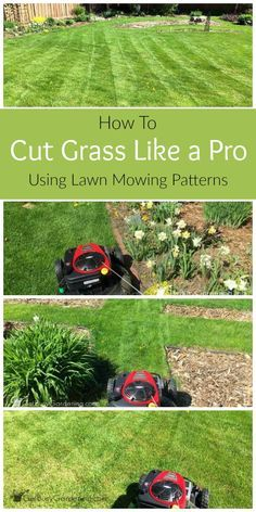 Lawn Mowing Patterns: How To Cut Grass Like A Pro | lawn