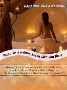 Client -  Paradise Spa  Product - Print Ad Agency - Brand Avenue Creative Director - Preeti Gaur  Visualizer - Ankyt Sharma