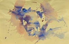 Resaldo Ajazi-Ritratto 2 (aquarello su carta)