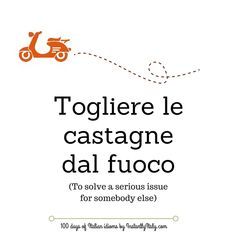 Day 8 of 100 Days of Italian Idioms by instantlyitaly.com