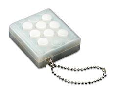 Electronic Bubble Wrap Keychain :: ThinkGeek