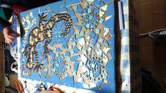 intento de mesa mosaico