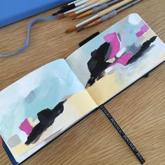 Sketchbook abstract mini's