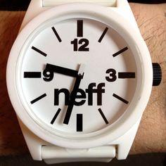 #NEFF #White #Watch - - Photo: Chris Anderson at Quantum Design Lab (http://quantumdesignlab.com)