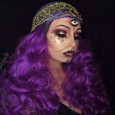 65 Awesome Fortune Teller Costume Ideas For Halloween 041 Pretty Halloween, Halloween Inspo, Halloween Makeup Looks, Halloween 2018, Halloween Outfits, Halloween Make Up, Halloween Party, Halloween Costumes, Halloween Couples