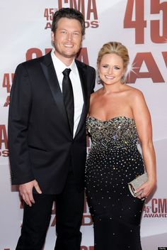 Blake Shelton & Miranda Lambert, my two favourites!