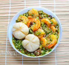 Nigerian Swallow dishes.... okra soup and eba