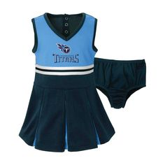Tennessee Titans Toddler/Infant Cheerleader 18 M, Toddler Girl's, Multicolored