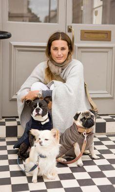 Yasmin Le Bon at Mungo & Maud Puppies And Kitties, Baby Puppies, Animals And Pets, Cute Animals, Yasmin Le Bon, Pet Style, Carla Bruni, Stephanie Seymour, Christy Turlington