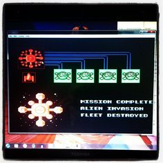 Captain Skyhawk for the NES. Super easy game and fun. This screen you see now? That's all you get for the ending. Nothing cool about it. Total weaksauce man lol
