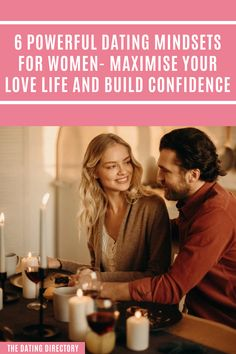 6 Powerful Dating Mindsets for Women - The Dating Directory Marriage Advice, Dating Advice, Best Places To Honeymoon, Cheap Honeymoon, Honeymoon Ideas, Honeymoon Destinations, Valentines Day Wine, At Home Date Nights, Love Puns