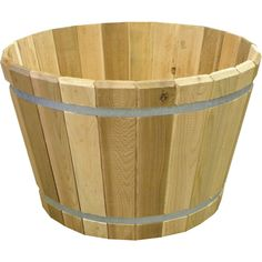 Real Wood Products W x H Natural Cedar Wood Natural Planter at Lowe's. Constructed from natural western red cedar, this planter is a wonderful option for smaller organic gardening jobs. Resin Planters, Cedar Planters, Plastic Planter, Basket Planters, Outdoor Planters, Concrete Planters, Hanging Planters, Barrel Garden Planters, Metal Garden Beds