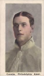 1910-11 Sporting Life M116 #51 Jack Coombs Front
