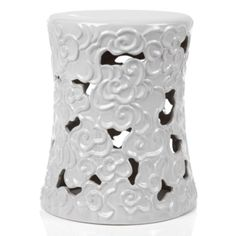 Cloud Stool - White   Accent-tables-stools   Accessories   Z Gallerie