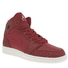3362ea4179f Nike JordanRed Air Jordan 1 Retro Hi Unisex Youth