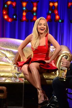 Voicing her desires! Rita Ora took things to another level when she revealed on Friday night's episode of Alan Carr: Chatty Man that she would like to have sex with her idol, Madonna