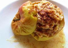 Schneller Protein Bratapfel