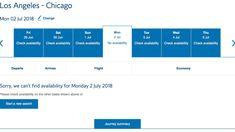 Workaround for Finding AA Award Availability Through British Airways