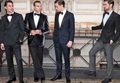 I <3 my men in suits.