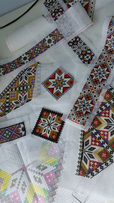 Beaded Embroidery, Embroidery Designs, Norwegian Clothing, Afghan Clothes, Folk Costume, Cross Stitch Designs, Bead Crafts, Traditional Dresses, Cross Stitching