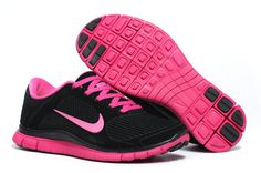 Nike Free 4.0 V3 Suede Womens Black Pink