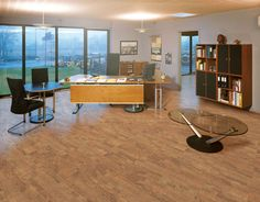 cork can even be used for flooring in a commercial setting