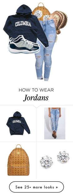 """""""•       3/16      •"""" by kinginnnn on Polyvore featuring MCM, Kenneth Jay Lane, Rare London and Columbia"""