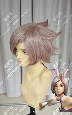 League of Legends LOL Riven Short Cosplay Party Wig Hair Party cosplays heat resistant (B0320) -- Awesome products selected by Anna Churchill