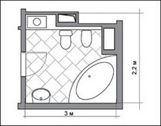 Space-saving floor plans help create functional and comfortable interiors and efficiently manage small bathroom remodeling projects creating visually spacious, bright and attractive interiors