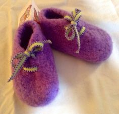 Felted Baby Wool Booties (6-12 Months)
