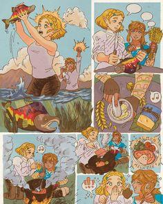 The Legend Of Zelda, Legend Of Zelda Memes, Legend Of Zelda Breath, Pretty Drawings, Amazing Drawings, Breath Of The Wild, Nintendo Princess, Botw Zelda, Link Zelda