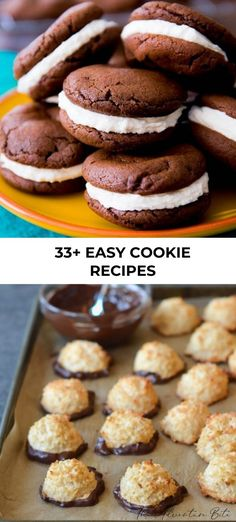 Try one of these delicious sweet cookie recipes out in your kitchen tonight! You can even get the family involved with these easy holiday cookie ideas! Easy Holiday Cookies, Holiday Cookie Recipes, Easy Cookie Recipes, Tart Recipes, Cheesecake Recipes, Cookie Ideas, Dessert Recipes, Holiday Foods, Christmas Cookies