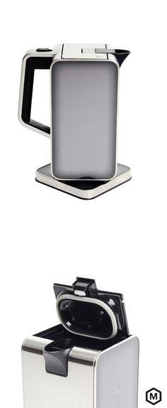 Kettle & Water Heater - So slick looking, I want it | http://fab.com/sale/22465/product/413882/?fref=hardpin_type56=Pinterest_Hardpin