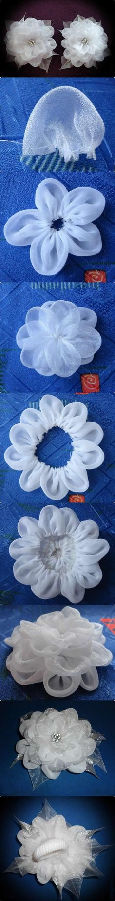 DIY Fabric Flower RingFree Diy Jewelry Projects | Learn how to make jewelry - beads.us