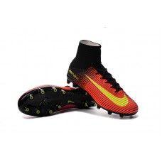 aec34e98c19 Nike Mercurial Superfly V AG-Pro Total Crimson-Volt-Pink Blast cheap  football