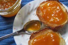 Homemade Apricot Jam (Two Ways) Pretzel Bites, Preserves, Bread Recipes, Pudding, Homemade, Breakfast, Desserts, Food, Xmas