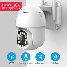 1080p Ptz Ip Camera Outdoor Speed Dome Wireless Wifi Security Camera Pan Tilt 4x Digital Zoom Cctv Surveillance Ip Camera Security Camera