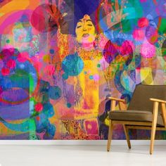 Adorn your wall with this stunning Crazy - Rainbow wall mural. Custom-made to fit your wall and printed onto a wallpaper of your choice. FREE UK delivery within 2 to 4 working days. Feature Wallpaper, Photo Wallpaper, Wall Wallpaper, Enchanted Tree, Wallpaper Companies, Rainbow Wallpaper, Inspirational Wallpapers, Beautiful Wall, Wall Murals