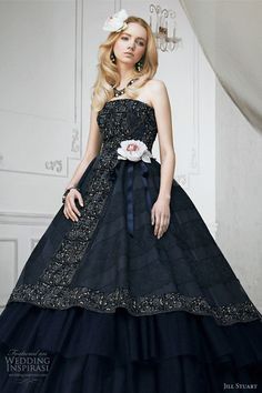 Jill Stuart Wedding Dress Collection 2011 — Print & Color Bridal Gowns | Wedding Inspirasi