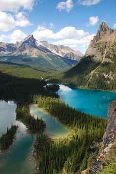 Yoho National Park in British Columbia, Canada.