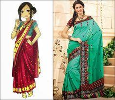 Saree : Traditional Clothes of India, Nepal, Bangladesh and Sri Lanka