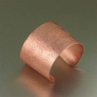 #Texturized Handmade #Copper #Cuff. Decidedly simple but undeniably alluring   http://www.ilovecopperjewelry.com/texturized-handmade-copper-cuff.html  $70.00