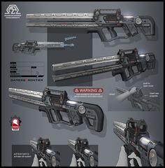 Dale esto a un Francotirador y causa una masacre, RailGun-Arma de Rail.
