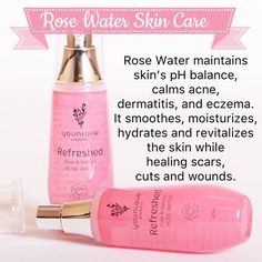 Rose Water www.youniqueproducts.com/AmberDorsey