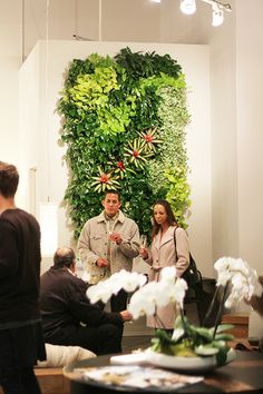 Environment Furniture's Grand Opening in South Coast Collection, Costa Mesa California #ecofriendly #sustainable #interiordesign #livingwall #plantscapers