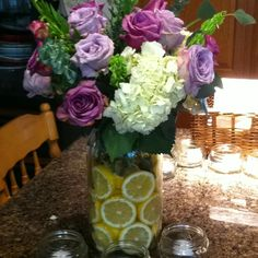 Mother's Day flower arrangement I made!