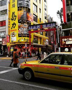 119 Likes, 10 Comments - Alexa Shibuya Tokyo, Japan Travel, Times Square, Yellow, Street, Instagram, Walkway
