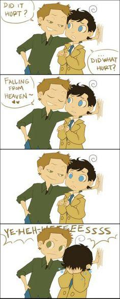 Smooth move Dean, smooth move